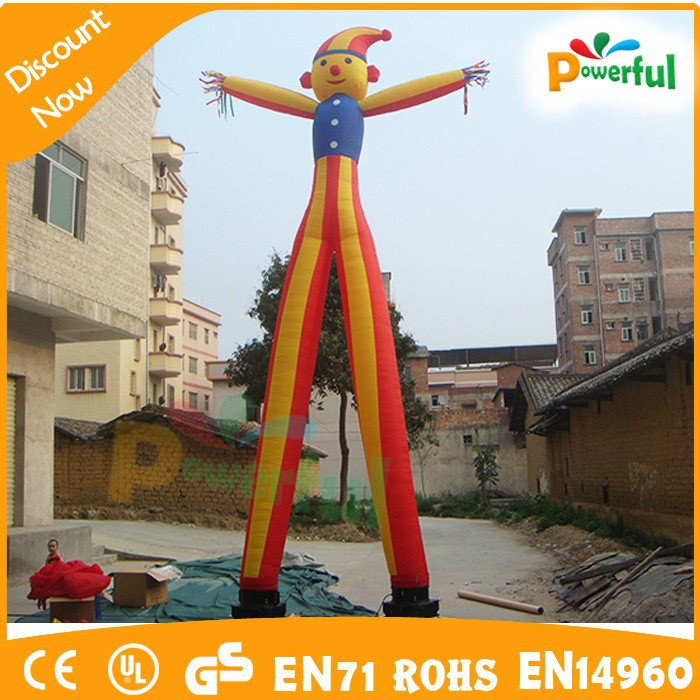 factory price funny inflatable dancing air puppet/inflatable tube man