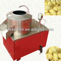 potato brush washer with 750kg per hour