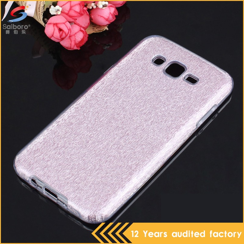 Super luxury tpu crystal case for samsung j7