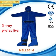 Full body x ray protective clothing/radiation proof clothing MSLLS01D
