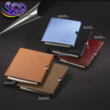 Genuine Leather Portfolio Writing Pad Business Case for Left & Right Handed Use