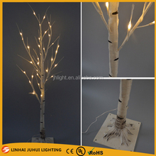 7ft white branch artificial birch christmas tree for sale, tree branch light