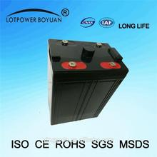 operated fan long life time lead acid rechargeable battery 2v 500ah lamp battery latest china supplier