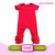 Carters icing onesie wholesale image baby floral summer jumpsuits custom pattern bodysuit baby cute crotch snap flutter onesie