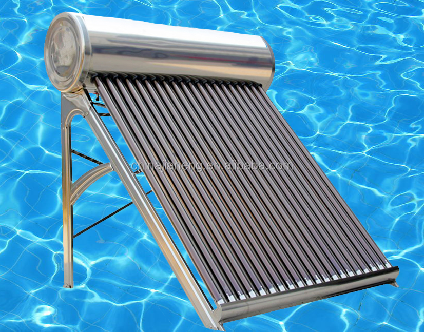 Portable Jain Solar Water Heater, Energy Saving Comfortable Heater for Home Use