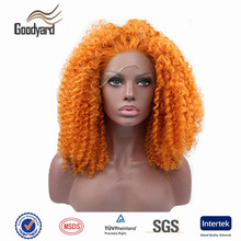 2016 football fans wig crazy hair synthetic wig for promotion events