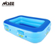 Wholesale Mini Outdoor Swimming Pool Slide For Children Floating Inflatable Boat Swimming Pool