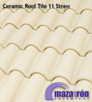 Mixed Ceramic Roof Tile 11 Straw