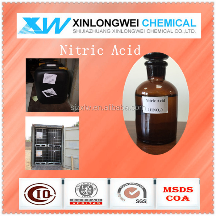 Concentrated Nitric acid 98% industrial grade