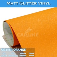 CARLIKE Wholesale Self Adhesive Film Matt Glitter Diamond Car Vinyl Wrap