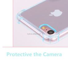New Product Original Silicone Back Cover Case for iphone 7 plus Soft TPU Mobile Phone Skin for iphone7