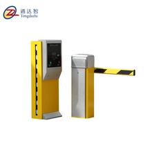 High quality automatic parking vehicle barrier gate remote control