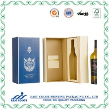 Luxury Custom Print Wine Box Packaging Cardboard Wine Gift Box