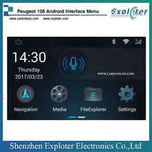 Peugeot Video interface With Android Navigation Support Waze