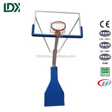 Best selling indoor portable hydraulic basketball stand system