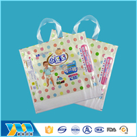 Online shopping custom security cheap diapers plastic packing bag