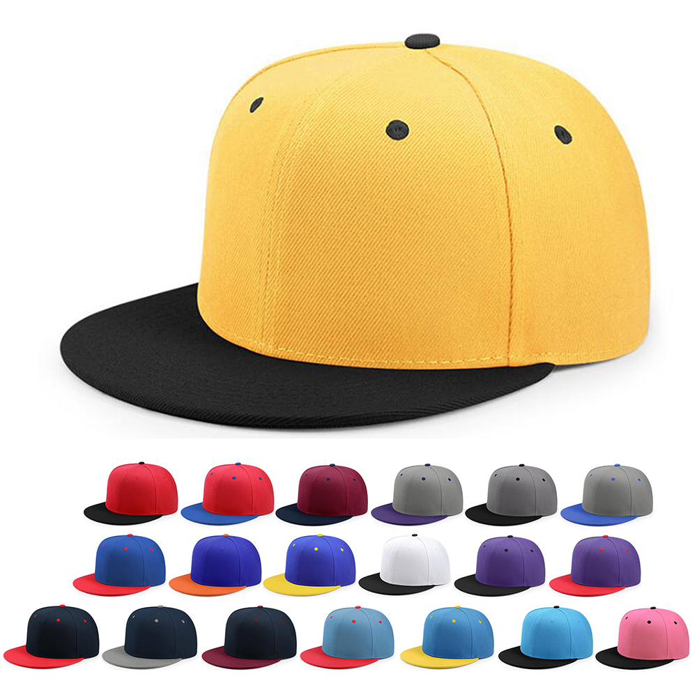 Blank Wholesale Hip-hop Flat Bill Baseball <strong>Caps</strong> Sports Hats Snapback