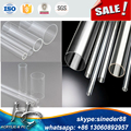 clear high transparent acrylic tubes at high quality