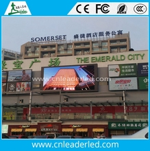 Shenzhen leader customized size outdoor full color led panel p6 for advertising/dancing/concert video playing