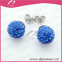 10mm crystal ball 2013 spring fashion jewelry