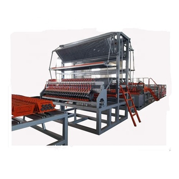 Steel wire mesh machine for concrete reinforcement