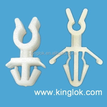 nylon cable clip Wire mount round cable clamp Nylon cable management ...