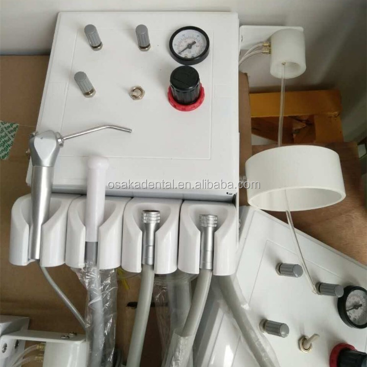 Dental turbine unit with week suction