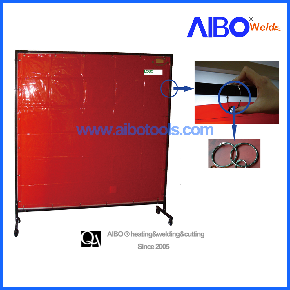 Welding curtain screen