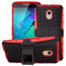 Kickstand 2 in 1 Armor stand case for MOTO X STYLE