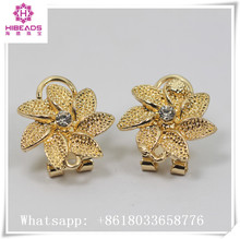 Best quality findings for jewelry hot sale gold filigree jewelry findings components