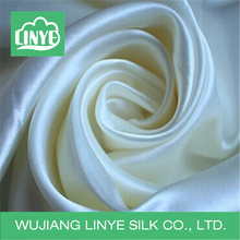 high quality shiny white bridal satin/bridal satin fabric
