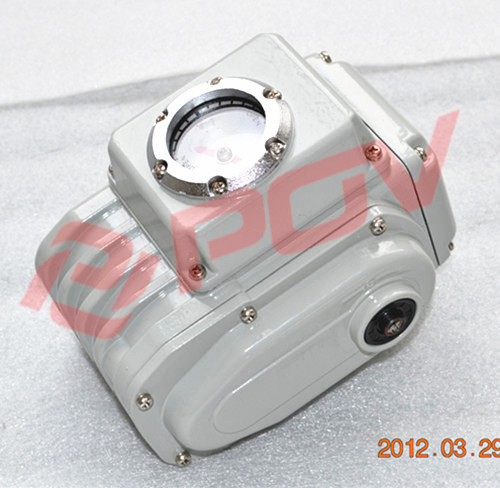 POE-05Z i/o:4-20ma regulation type 220v small electric rotary actuator