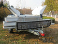 2015 New rear folding camping trailer