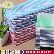 patients textile material 100% cotton stripe printed fabric for hospital