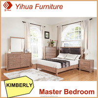 Yihua Kimberly Classic Bedroom Furniture Fabric Bed Room