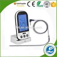 wireless outdoor thermometer waterproof good cook meat thermometer calibration wireless cooking thermometer