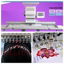 HOLiAUMA embroidery machine for baseball cap t-shirt flat embroidery for sale