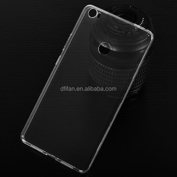 DFIFAN Alibaba hot selling clear transparent back cover for xiaomi mi max ultra thin simple case for xiaomi mi 6x