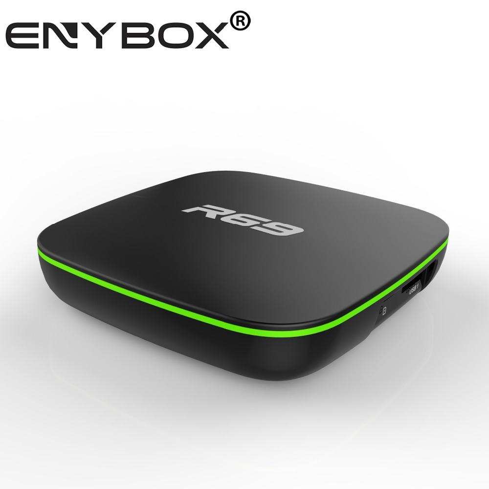 R69 smart android tv box make your tv smart hd up to 1080P 1Gb 8GB