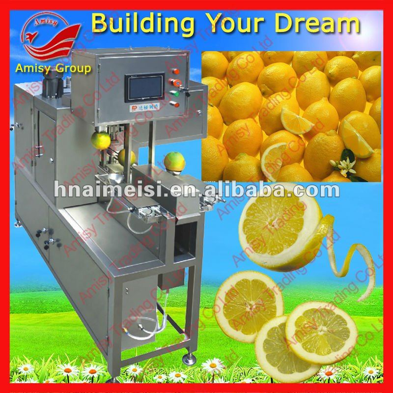 orange shelling slicing machine/orange peeling machine/orange slicing machine