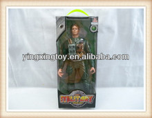 34cm kids plastic military figure small soldiers toys