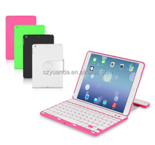 For ipad air iPad5 360 Rotating Stand Folio Style Case Cover Bluetooth Keyboard