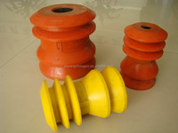 Top and bottom rubber Cementing plug
