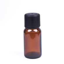 10ml Amber Glass Bottles With Temper Evident Cap For Essential Oil