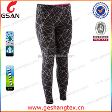 96 polyester 4 spandex pants compression shorts pants