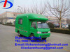 mini Foton mobile food van truck manufacturer directly sale in China