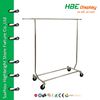 American style single bar portable clothing rack