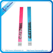 Special gifts of personalized tyvek paper wristbands for special holidays