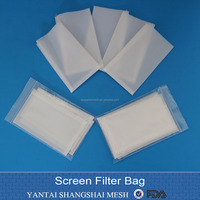 Hydraulic rosin heat press screen Tea Bag Filters