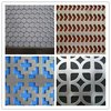Building material ! Decorative metal wall hexagonal perforated metals / perforated metal sheets